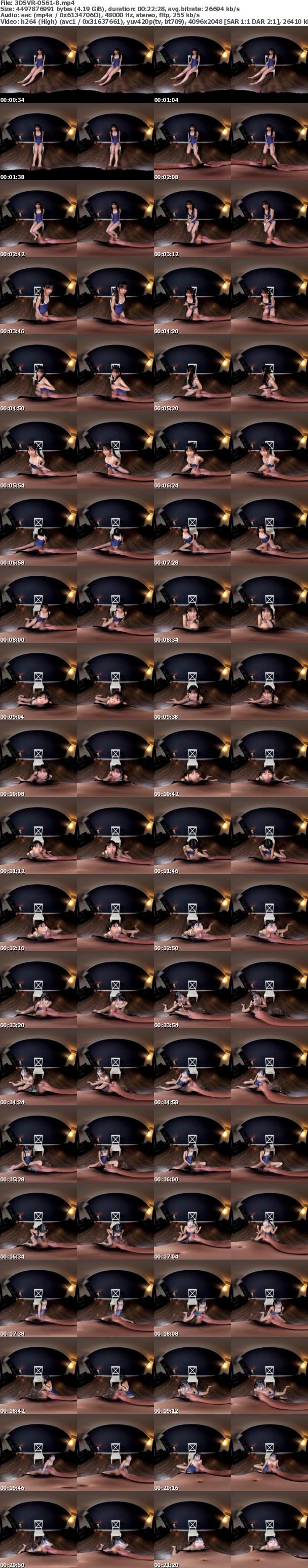 (VR) 3DSVR-0561 無限大量全身ぶっかけ地獄! 【こんなVRが見たい!祭 2019年】