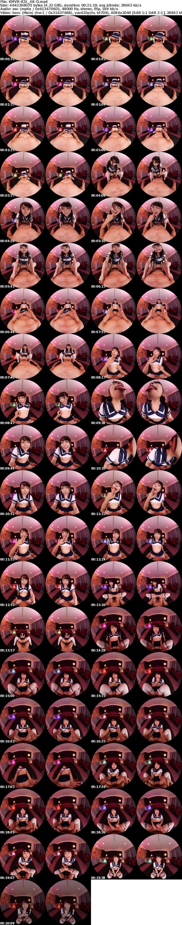(VR) (4K) KMVR-831 究極のベロテクで顔面をしゃぶり尽くす'舐め専門ヘルス'のNo.1嬢と粘膜絡み合う特濃性交! 宮沢ちはる