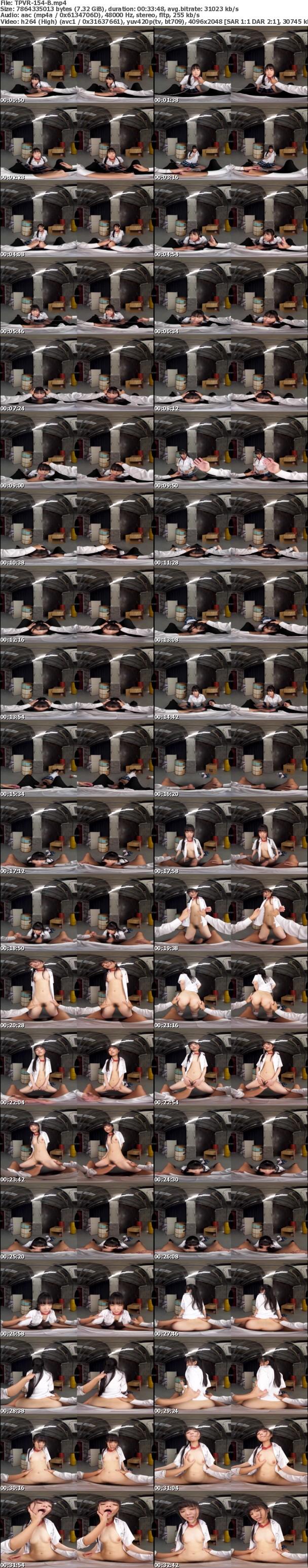 (VR) TPVR-154 HQ60fps J●段ボール監禁恥辱の記録 嫌がり暴れる美少女の喉奥深くにねじ込みハメる鬼畜SEX