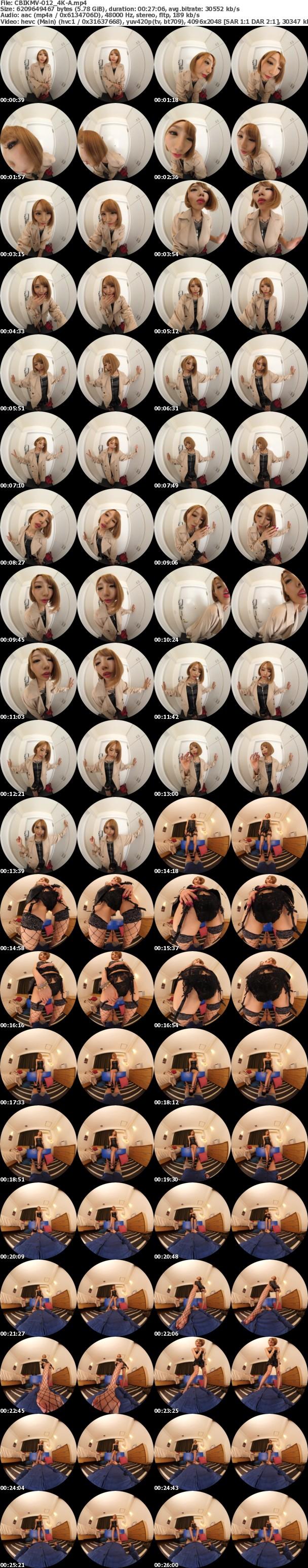 (VR) (4K) CBIKMV-012 絶対予約が取れない180cm超長身タトゥー美女 エル なぶり超脚テク、舌ワザ。生姦激ピス、連続イキで何度も中出し 佐藤エル