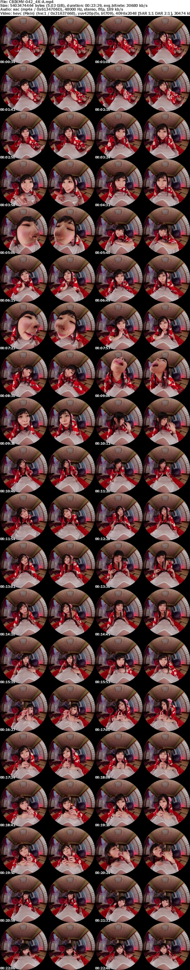 (VR) (4K) CBIKMV-042 裏風俗 極上痴女の寸止め淫語ノンストップ乳首射精っ!指名率No.1 リピート率120% みおさん