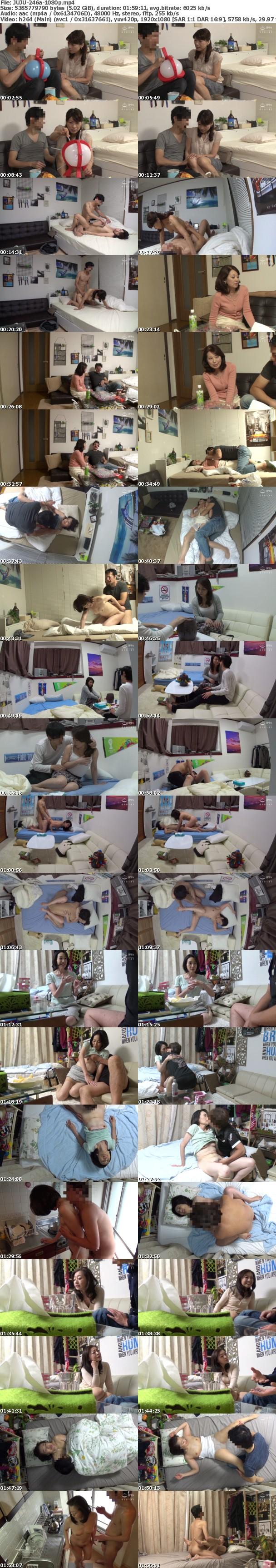 (Full HD) JUJU-246 五十路六十路熟女特大号!!~若いイケメンに迫られ中出し了承した熟女たち~ 乗せられ煽てられ調子に乗っちゃった乳首ビンビンぺったん乳完熟おばさんをナンパ連れ込みSEX 20人8時間