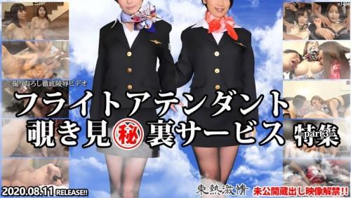 Tokyo Hot n1484 東熱激情 フライトアテンダント覗き見 裏サービス 特集 part3