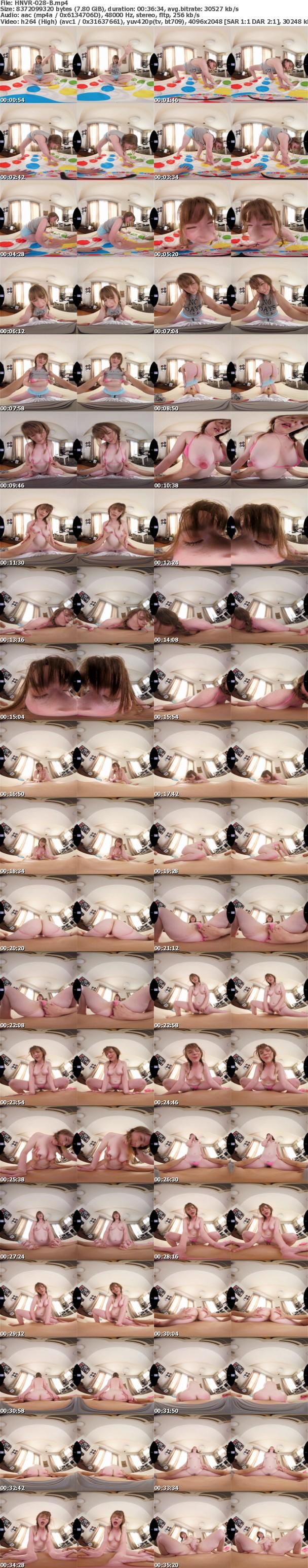 (VR) HNVR-028 性欲強めな金髪ワイフとイチィチャ子作り新婚生活体験VR ジューン・ラブジョイ