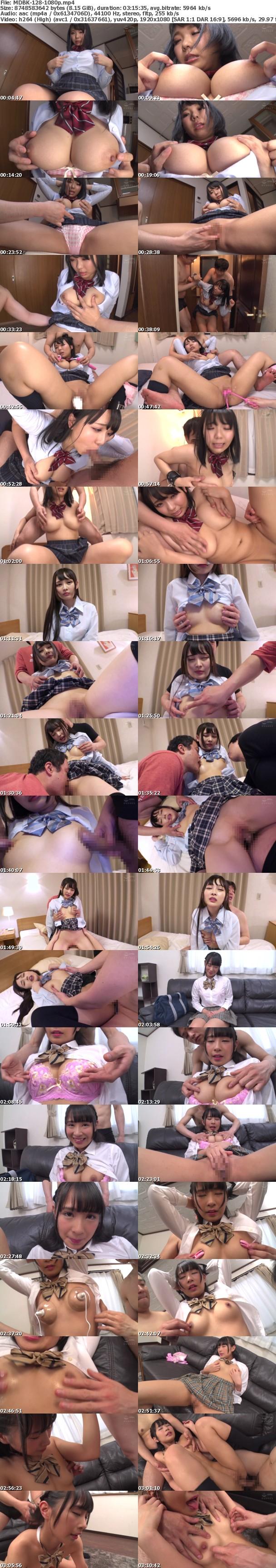 (Full HD) MDBK-128 女子●生の超敏感な乳首をイジくりまくり感度MAXで激イキSEX!2
