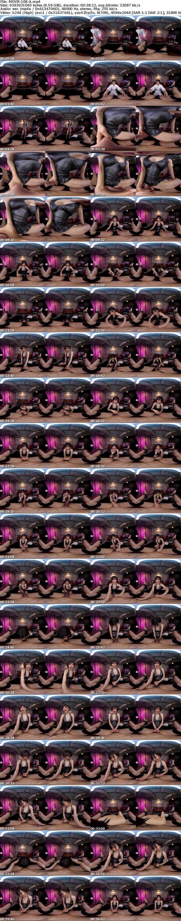 (VR) MDVR-108 ハイクオリティ痴女×高画質 里美ゆりあのイキイキM男開発フルコース強●連射SPECIAL!! 淫語!よだれ!ペニバンアナル!男潮吹き!寸止め手コキ!天井特化騎乗位…!!ゆりあ様の痴女プレイの前では勝手に動くのも射精するのもダメ!絶~っ対!!