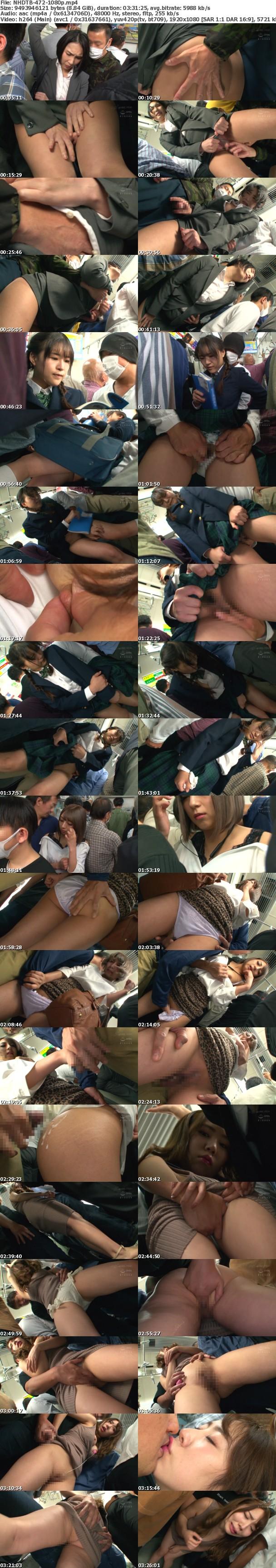 (Full HD) NHDTB-472 痴●師のネチネチ手マンに屈服した女は周りにバレないこっそり挿入で何度も絶頂させられる