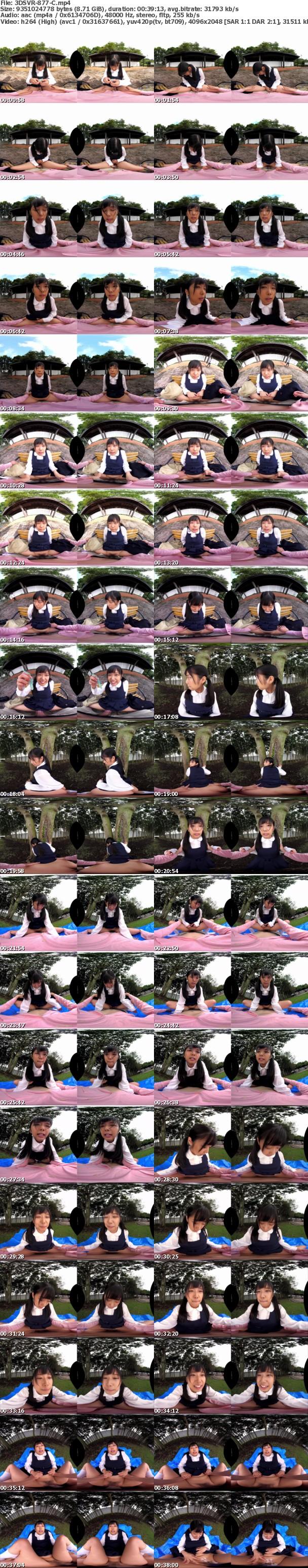 (VR) 3DSVR-877 【私、イメトレだけは万全ですっ!】エッチなことで頭がいっぱいなウブっ子と近所の公園でこっそり触りあいっこ