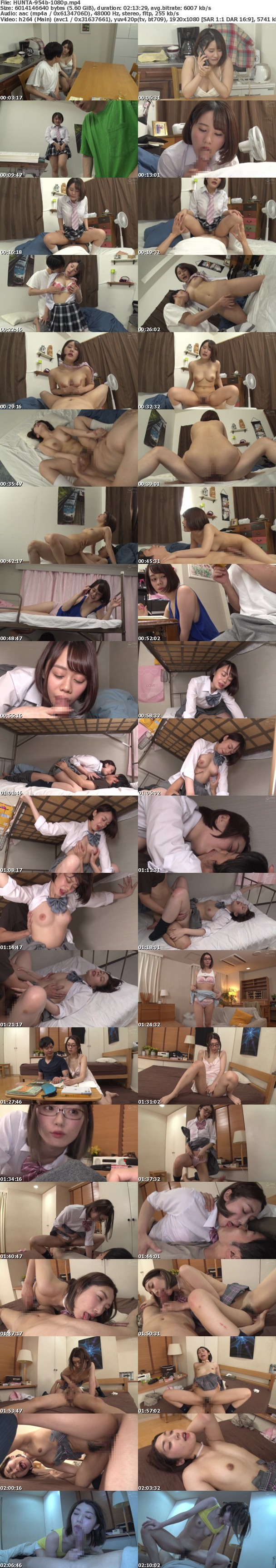 (Full HD) HUNTA-954 『ちょっとお前何してるんだよ!』目を覚ましたら妹がボクの上で勝手にイキまくり!ヤリマン予備軍の妹は超性欲モンスター!最近エッチ覚えたての妹…