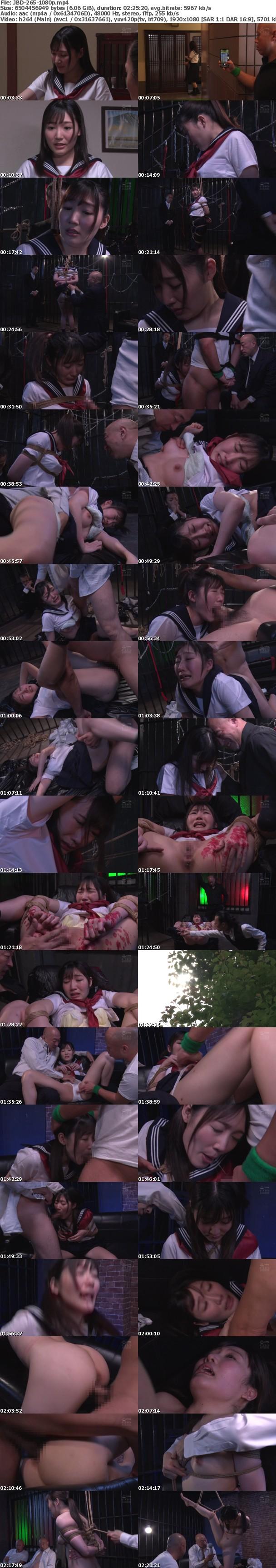 (Full HD) JBD-265 女子●生 蛇縛輪●十四 武田エレナ