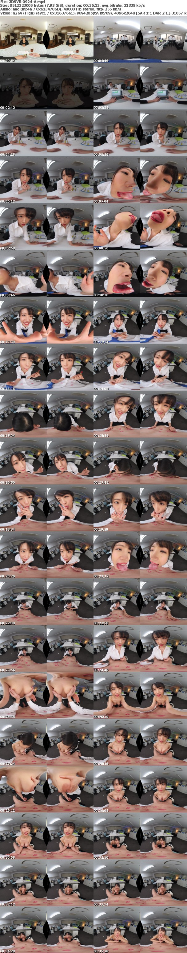 (VR) 3DSVR-0924 結婚間近で幸せ絶頂な僕を唇が狂わせる!キス魔の女上司からの舐め接吻NTR