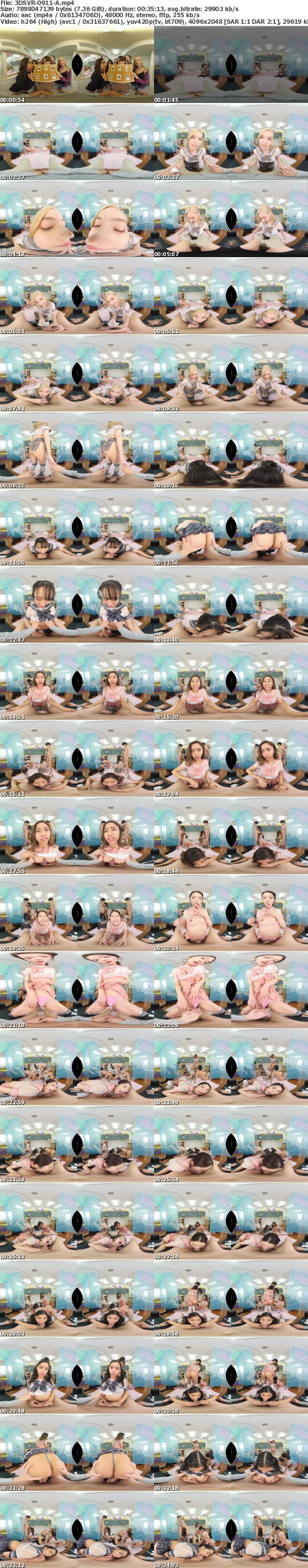 (VR) 3DSVR-0911 日本語学校1-B文化祭の出し物は【ピンサロ】アメリカから東南アジアまでフェラチオ文化交流 限定特別コース【ハーレムコース】で世界の美人学生を独り占め!