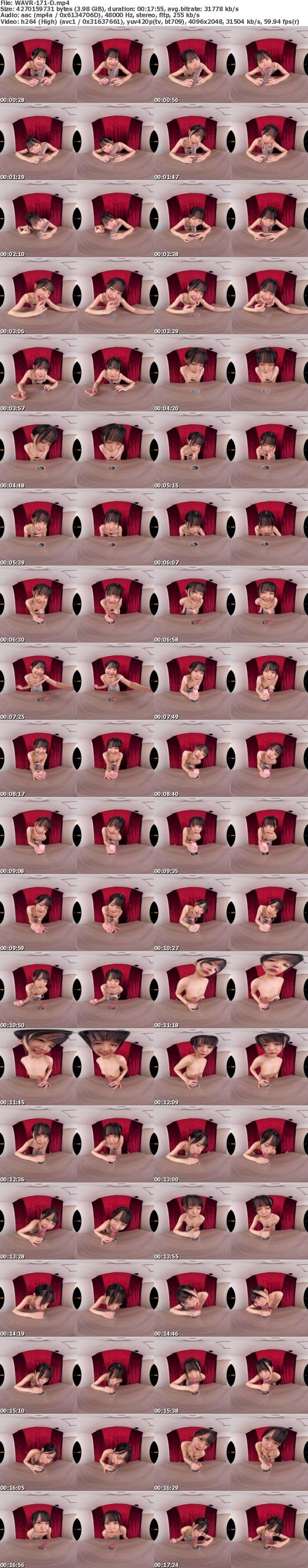 (VR) WAVR-171 フェラ顔じっくり!!舐め音くっきり!! 机の穴から出たチ○ポを至近距離でフェラしつづけるVR クリアディルド舐め!パンツ上&下愛撫!オナホコキ!濃厚フェラ!男性の身体が映っていないから激シコできる高画質フェラ保存版!!