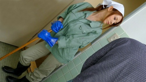 pacopacomama 061021_488 働く地方のお母さん ~チンポも綺麗にしてくれる掃除婦~