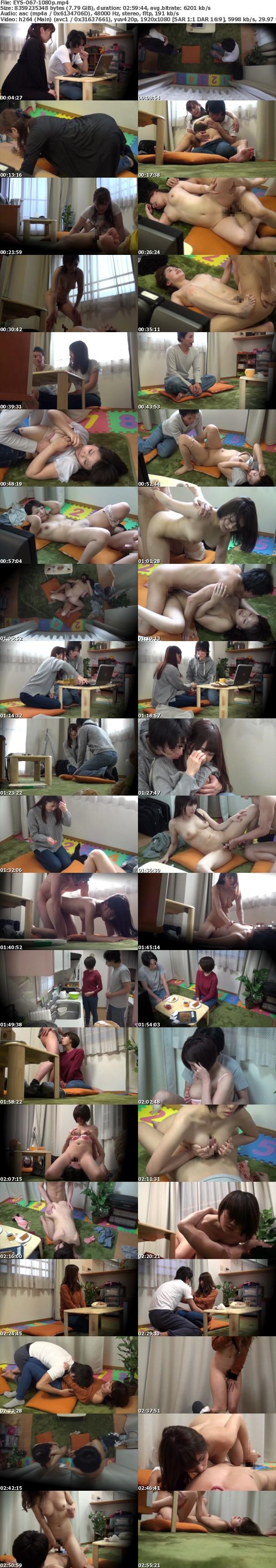 (Full HD) EYS-067 お節介なほど世話好きなママ友とのSEX隠し撮りvol.4