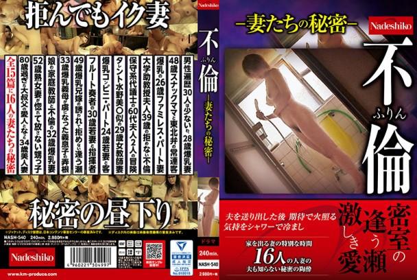 (Full HD) NASH-540 不倫 ふりん-妻たちの秘密-